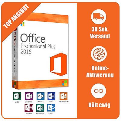 Microsoft Office 365 Pro Plus 5er Acccount PC/MAC/Tab, 5GB OneDrive