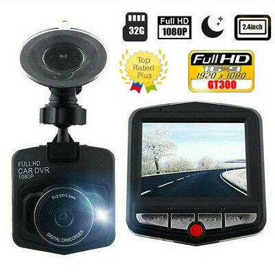 "GT300 2.4"" Full HD 1080P Car DVR Vehicle Camera Video Recorder Dash Cam USstock"