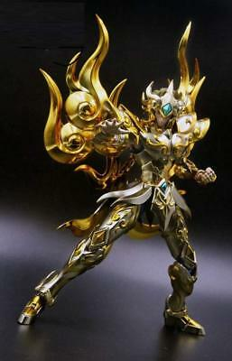 CQ Model Saint Seiya Myth Cloth Soul of God SOG EX Leo Aiolia Figure Présalé