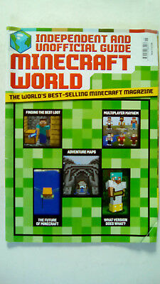 Minecraft World Magazine Independent and Unofficial Guide Issue Number 15