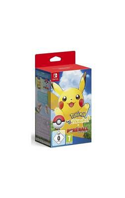 Pokemon: Let´s Go, Pikachu! + Pokeball Plus SWITCH NSWITCH Neu & OVP