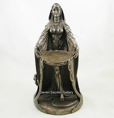 Danu Celtic Mother Goddess of Abundance Figure Figurine Pagan Irish Statue NEW