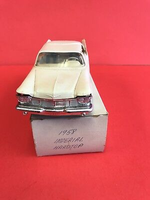 1958 Imperial Hardtop Promo (No Friction) See Pics And Description