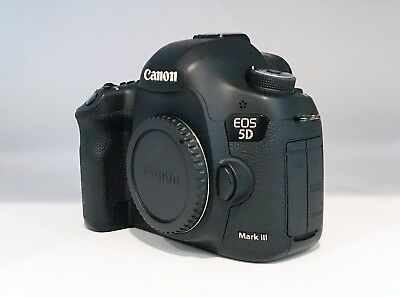 Canon EOS 5D Mark III Full Frame DSLR Camera (Body Only) Clean, Excellent