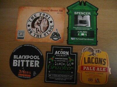 5 DIFFERENT PUMP CLIPS FROM MICROBREWERIES - Lot 2