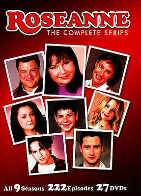 Roseanne: The Complete Series (DVD, 2013, 27-Disc Set)   w/Slipcover