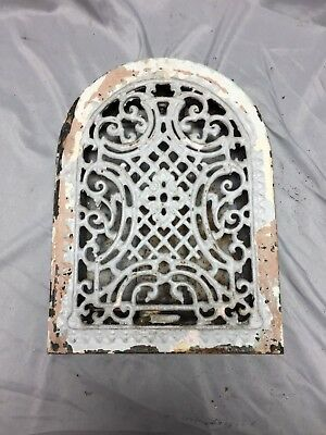 Antique Cast Iron Arch Dome Top Floor Register Heat Grate 8X12 Old Vtg 543-18C