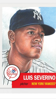Topps Baseball Living Set Card New York Yankees Luis Severino #115
