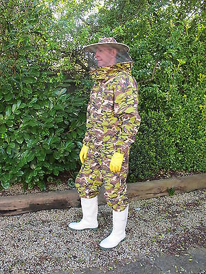 PREMIUM QUALITY Bee Suit Round Hat - Camo, All Sizes
