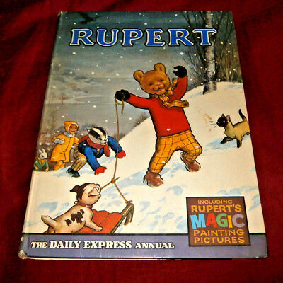 RUPERT ANNUAL 1967. In Good Condition. Magic Painting Completed.