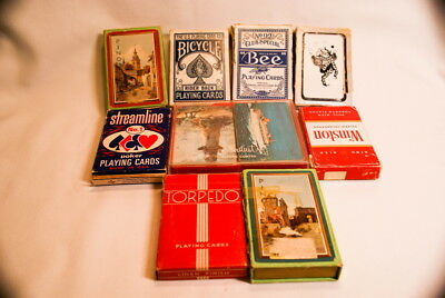 Vintage Estate Poker Playing Cards Collection