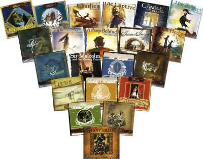 New 21 LAMPLIGHTER THEATER Classic Stories Series Lot 21 Christian Audio CD Sets