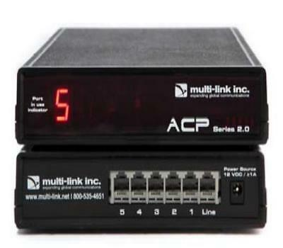 Multi-Link Line Sharing 5 Port Call Router ACP-500