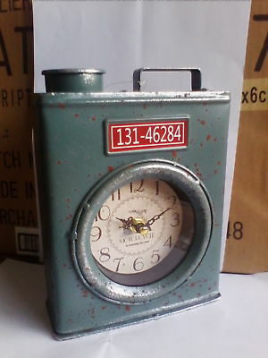Petrol Can Clock - Retro,Vintage Style - Ideal gift for Petrol heads