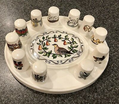 thimbles collection Twelve Days Of Christmas