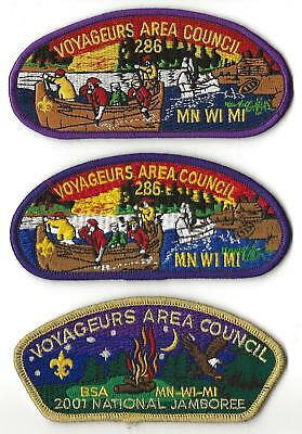 VOYAGEURS AREA COUNCIL - CSP & JSP - 2001 JAMBOREE - Boy Scout BSA A128