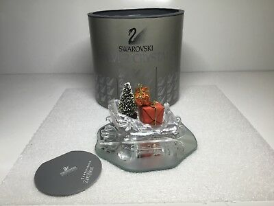 Swarovski Crystal Christmas Sleigh with Presents Figurine  205165