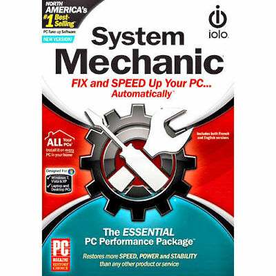 System Mechanic 18 1 PC Users 1 Year Retail License -Latest Edition. PC Tune Up