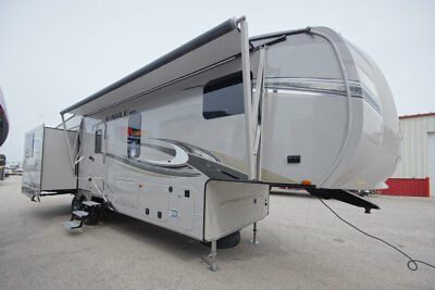 2018 Jayco Eagle 30.5Mbok Rear Living 5Th Wheel With Bunks 4 Slides