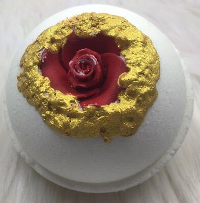 Rose Gold Bath Bomb With Surprise Ring Inside
