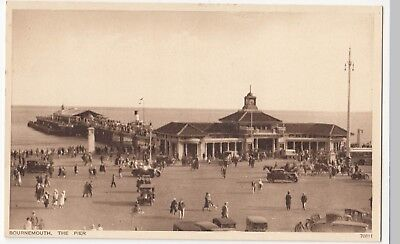 Dorset; Bournemouth, The Pier, PPC By Photochrom, Unposted, c 1930's