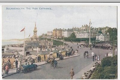 Dorset; Bournemouth, The Pier Entrance PPC By Photochrom, Celesque, Unposted