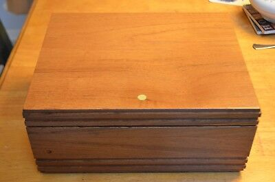 Savinelli 1876 Bordeaux Humidor 25-Count 11 x 8.5 Made In Italy + Accessories