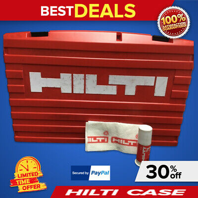 Hilti Case For Te 35, (Case Only), Preowned, Free Grease, Fast Shipping