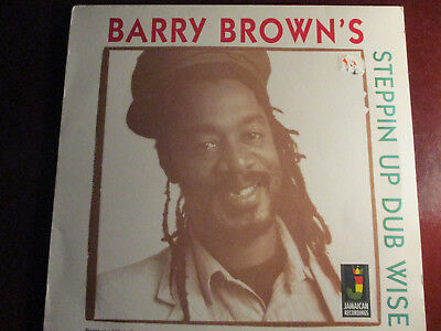 "Barry Brown ""steppin Up Dub Wise"" 2003 Jamaican Recordings  The Revolutionaries"