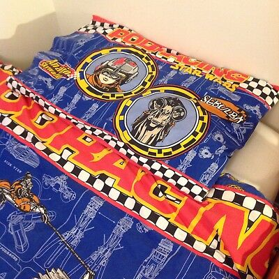 Vintage  90s Star Wars Single Duvet/Quilt Cover With Pillow Case