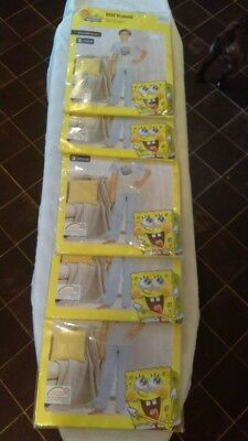 Joblot of 5x Sponge Bob Square Pants Pjs