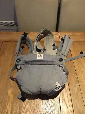 Ergobaby 360 Baby Carrier Four Positions Grey Day/Travel Baby Carrier