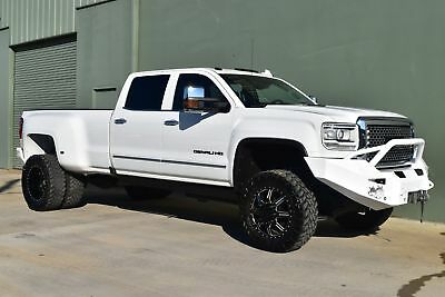 2016 GMC Sierra 3500 Denali CUSTOM LIFTED 2016 White Denali! $25K IN AFTER MARKET UPGRADES!!!