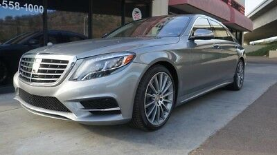 2015 Mercedes-Benz S-Class  2015 MERCEDES S550 PALLADIUM SILVER FULLY LOADED