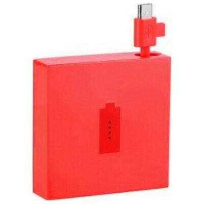 Nokia Power Bank Original Dc-18 Rojo Abultar Para Lumia Microsoft 435 532 550