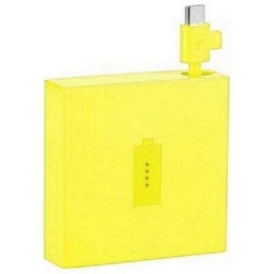 Nokia Power Bank Original Dc-18 Amarillo A Granel A Archos 90 Cobre Neón
