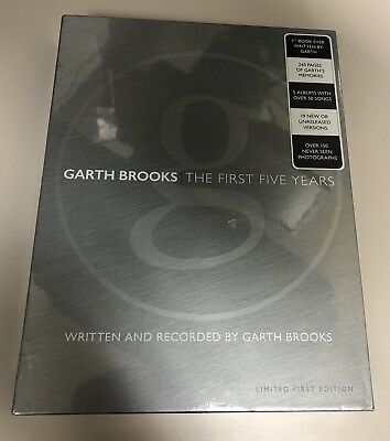 New Sealed Garth Brooks Anthology Part 1 The First Five Years with 5 CDs Limited