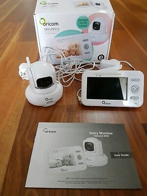 ORICOM SECURE 850 Baby video monitor with warranty