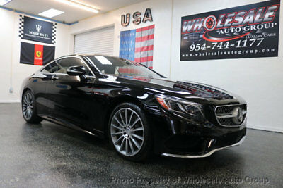 2016 Mercedes-Benz S-Class 2dr Coupe S 550 4MATIC BEST COLOR . LOADED. FACTORY WARRANTY. CARFAX CERTIFIED. CALL 954-744-1177