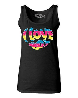 all sizes 8 to 16 EIGHTIES 80s MUSIC  VESTS TANK TOPS RHINESTUD DESIGN