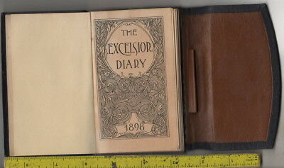 I have a 1898 Excelsior Diary Elston Carup 515 Bell St. Seattle, Wash.