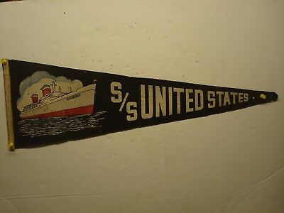 S.S. United States Ship Lines Banner