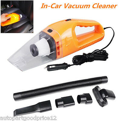 In-Car Vehicles Portable Handheld High Power 12V Cyclonic Wet/Dry Vacuum Cleaner