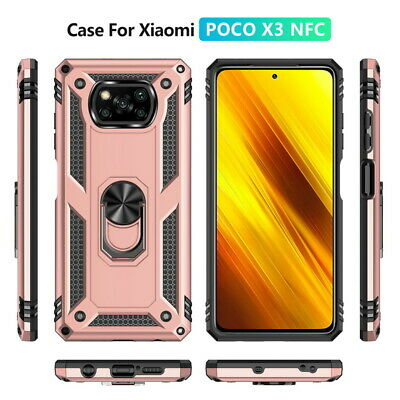 For Xiaomi Redmi Mi A1 A2 Note 6 Pro 8 Lite Magnetic Ring Holder Hard Cover Case
