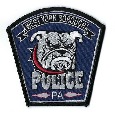 West Manchester Borough (York County) Pennsylvania Police patch - NEW!