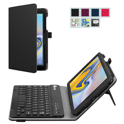 "For Samsung Galaxy Tab A 8.0"" Tablet Case Folio Cover with Bluetooth Keyboard"