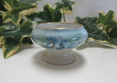 ~Oscar & Edgar Gutherz ~ Royal Austrian China ~ Pedestal Open Salt Cellar Dip