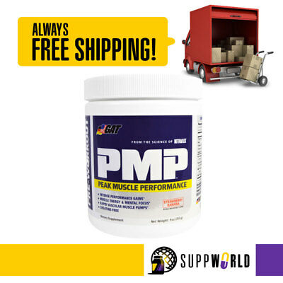 GAT PMP - 30 Serves - Peak Muscle Performance Pre-Workout (Expiry 03/2019) (SMW)