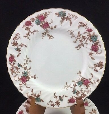 "Minton England ANCESTRAL 8"" Salad Plate S376 Wreath Mark - 3 available"