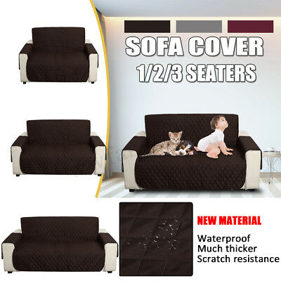 Waterproof 1 2 3 Sofa Seater Recliner Covers Dining Lounge Chair Cover Protector